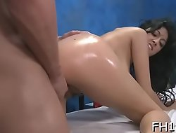Massage parlor sex clip scene