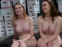 Milf lesbian couple in wild fetish domination games