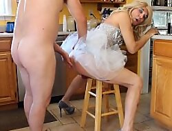 hard spank for sissy crossdresser