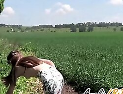 Cute Girl Public Blowjob Big Dick Stranger Widely - Cum in Mouth
