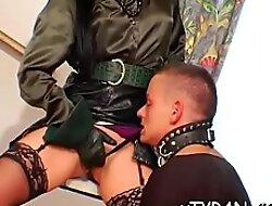 Beguiling girl Roxyn enjoying dong