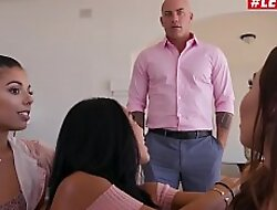 LETSDOEIT - Most important Stepdaddy Fucks His Teen Stepdaughter And Her BFF's (Gina Valentina, Morgan Lee xxx video  Melissa Moore)