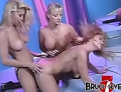 BRUCE SEVEN - Two Unusual Blondes Lady-love With Strapon