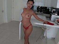 Cute inexpert Thai wife loves bareback fucking
