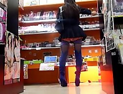 Crossdresser Mini Ecumenical in Sex shop