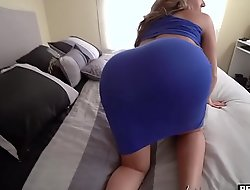 My super curvy stepmom sucked and fucked my big learn of