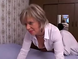 Untrained Mature Anal Sex