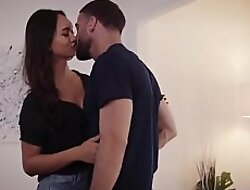 Asian TS Andrea Zhay analed by big dick