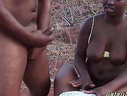 African deepthroat safari fuckfest