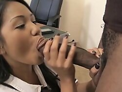 Virgin Thai Schoolgirl Seduce Black Uncultivated Cock be incumbent on Primary Fuck in classroom