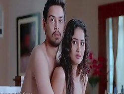 Tridha choudhury topless giving a kiss scene from khawto