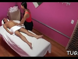 Sex for a man during massage