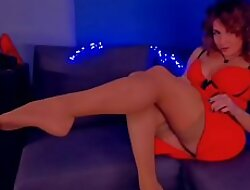 amateur foot fetish lay bare stocking red dress beautiful redhead - Her Live Size ----  xcams.site/lizafan