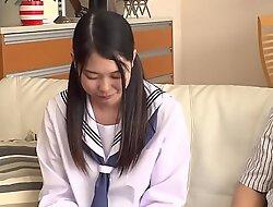 Infinitesimal Japanese Teen Abuses xxx video  Fucks Step Dad