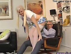 Amateur stockings fingered changeless