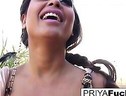 Super hot backyard solo with Indian MILF Priya Rai!