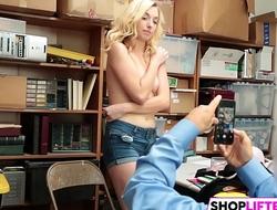 Shoplifting Teen Babe Zoe Gets Nailed