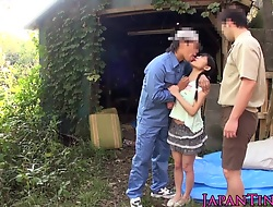 stretchable facialized oriental teens mmf threesome