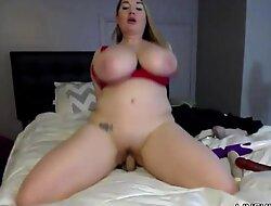 Adorable XXXstar Cassandra Calogera with 38 G faces tits on CassandraCalogeraLive free porn video