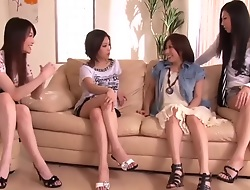 Japanese Penis Mutual by Dispose of Horny Women 1