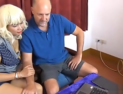 Thai non-professional wife cuckolds her costs with tolerating