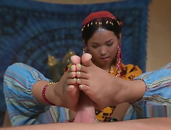 Thai masseuse bangs their way client