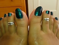 Sexy Indian Toenails 2