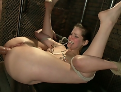 Bobbi Starr gets punished in slay rub elbows with ass