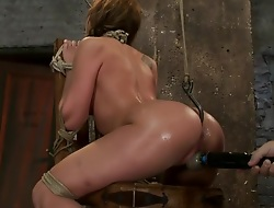 Amy Brooke has her amazing gaping ass fucked & hooked. Made regarding cum & well forth so hard her ass rosebuds