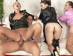 Horny pornstars Candy Alexa and Tiffany Unspecified in awesome anal, big tits mature dusting