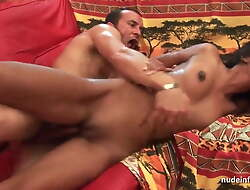 FFM Assfuck sling young amateur indian old bag with closely-knit breast