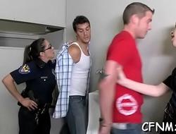 Big butt chick banged hard