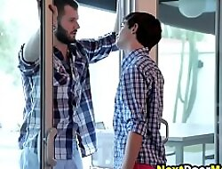 Plotting twink seduces his gay brother's boyfriend