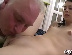 Fusty titted doxy group-fucked hard