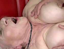 Norma the Sexy Cleaning Lady Finding some Porn more than Laptop And Drilled
