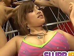 Impressive threesome does Yukina Mori enjoys on cam - In the matter of at Slurpjsex free clip