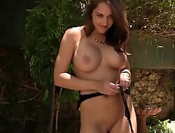 Dark Haired Kiera King Butt Plugs Herself xxx video  Cums By Dildo!