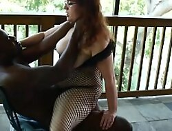 White Slut Vicki Verona Sucks xxx video  Fucks Chunky Black Cock Out of doors