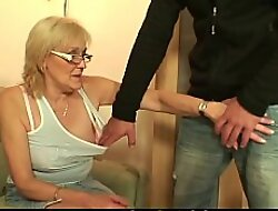Sex-crazed old mother-in-law