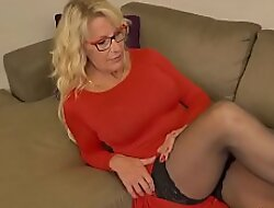 Blonde milf Bianca non-native Canada needs getting off