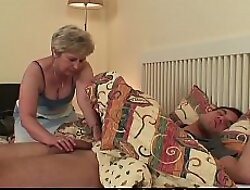 Cock-hungry mother-in-law
