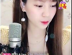 cute asian đẹp livestream Uplive lộ hàng