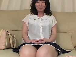 Grown up Nozomi Iwahashi gets muted pussy creampied