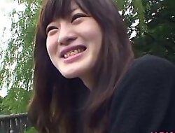 Japanese teen Aki Tajima fucked by helpless asian dig up